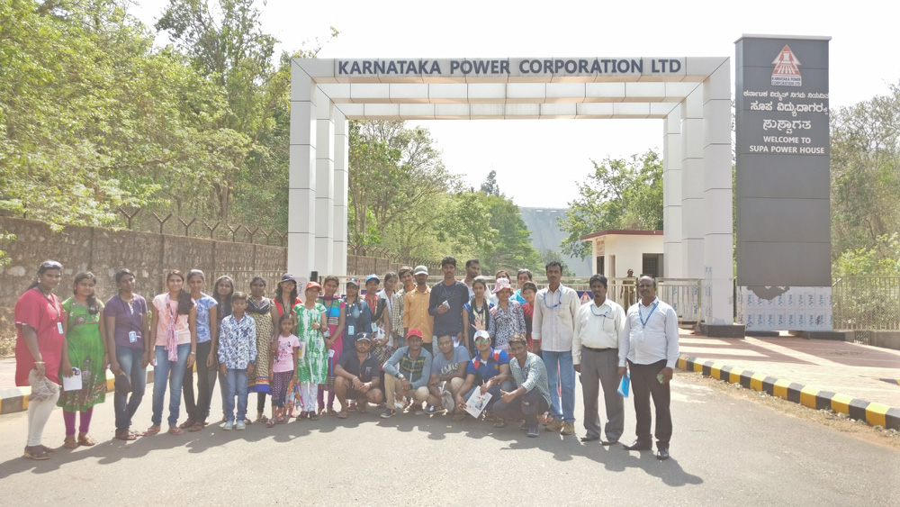 INDUSTRIAL VISIT BY EEE STUDENTS