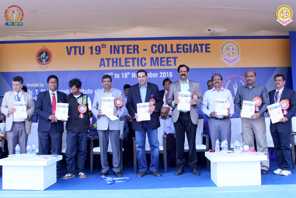 VTU ATHLETIC MEET 2016